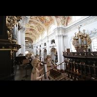 St. Florian (bei Linz), Stiftskirche, Alle drei Orgeln