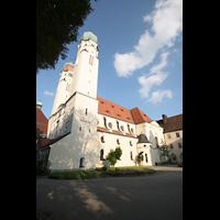 Vilshofen (Schweiklberg), Benediktinerabtei St. Trinitatis, Außenansicht