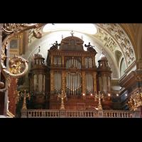 Budapest, Szent István Bazilika (St. Stefan Basilika), Orgelempore