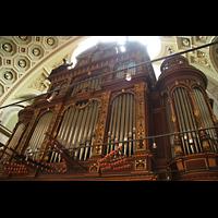 Budapest, Szent István Bazilika (St. Stefan Basilika), Orgelprospekt