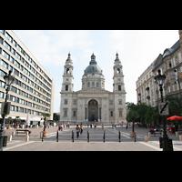 Budapest, Szent István Bazilika (St. Stefan Basilika), Basilikaplatz
