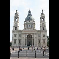 Budapest, Szent István Bazilika (St. Stefan Basilika), Fassade