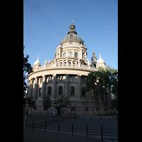 Budapest, Szent István Bazilika (St. Stefan Basilika), Chor von außen