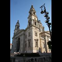 Budapest, Szent István Bazilika (St. Stefan Basilika), Doppelturmfassade