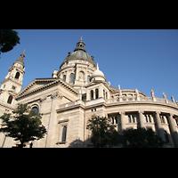 Budapest, Szent István Bazilika (St. Stefan Basilika), Gesamtansicht von außen