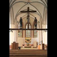 Gransee, Ev. Stadtkirche St. Marien, Gotische Triumphkreuzgruppe