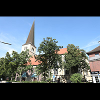 Dülmen, St. Viktor, Außnenansicht von der Seite