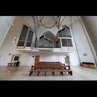 Dülmen, St. Viktor, Orgel im Seitenschiff