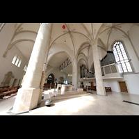 Dülmen, St. Viktor, Innenraum mit Orgel