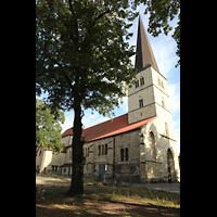Dülmen, St. Viktor, Seitenansicht mit Turm