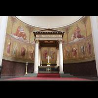 Potsdam, St. Nikolai (Hauptorgel), Chorraum mit Altar