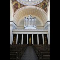 Potsdam, St. Nikolai (Hauptorgel), Orgelempore über dem Haupteingang