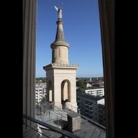 Potsdam, St. Nikolai (Hauptorgel), Engelfigur auf einem der Türme