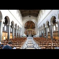 Potsdam, Friedenskirche am Park Sanssouci, Innenraum in Richtung Chor