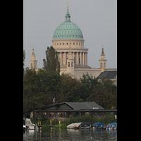 Potsdam, St. Nikolai (Hauptorgel), Ansicht von der Havel aus
