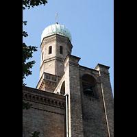 Berlin (Zehlendorf), St. Peter und Paul auf Nikolskoe (Wannsee), Turm