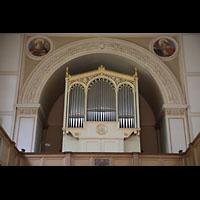 Berlin (Zehlendorf), St. Peter und Paul auf Nikolskoe (Wannsee), Orgelempore