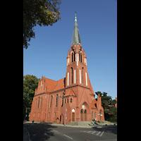 Berlin (Zehlendorf), Pauluskirche (Bach-Orgel), Außenansicht