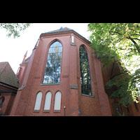 Berlin (Zehlendorf), Pauluskirche (Bach-Orgel), Chor von außen