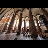 Szczecin (Stettin), Katedra sw. Jakuba (Jakobskathedrale), Innenraum seitlich gesehen