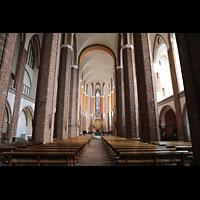 Szczecin (Stettin), Katedra sw. Jakuba (Jakobskathedrale), Innenraum in Richtung Chor
