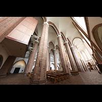 Szczecin (Stettin), Katedra sw. Jakuba (Jakobskathedrale), Seitenschiff mit Orgel