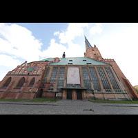 Szczecin (Stettin), Katedra sw. Jakuba (Jakobskathedrale), Außenansicht von der Seite
