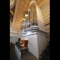 Potsdam, St. Nikolai (Hauptorgel), Orgel, von der Empore aus gesehen