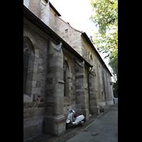 Kirchheim unter Teck, Stadtkirche St. Martin, Seitenschiff von außen