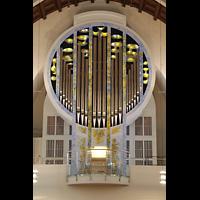 Stuttgart, St. Fidelis, Orgel