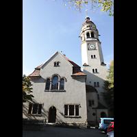 Stuttgart, Markuskirche, Außenansicht Rückseite
