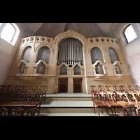 Stuttgart, Markuskirche, Orgelprospekt