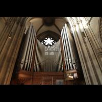 Stuttgart, Johanneskirche, Orgelprospekt perspektivisch