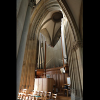 Stuttgart, Johanneskirche, Orgel mit Spieltisch