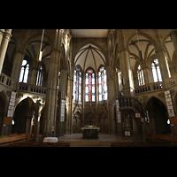 Stuttgart, Johanneskirche, Chorraum und Vierung