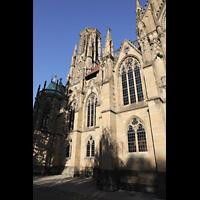 Stuttgart, Johanneskirche, Seitenansicht mit Turm