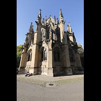 Stuttgart, Johanneskirche, Ansicht vom Chor aus