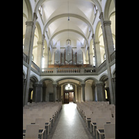 Stuttgart, Matthäuskirche, Orgelempore
