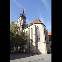 Stuttgart, Stiftskirche (Hauptorgel), Chor und Turm