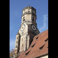 Stuttgart, Stiftskirche (Chororgel), Turmhelm