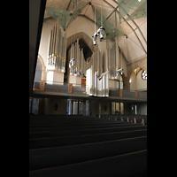Stuttgart, Stiftskirche (Chororgel), Orgelempore seitlich