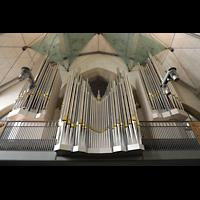 Stuttgart, Stiftskirche (Chororgel), Hauptorgel perspektivisch
