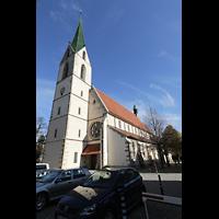 Rottenburg (Neckar), St. Moritz, Außenansicht schräg seitlich