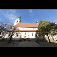 Rottenburg (Neckar), St. Moritz, Seitenansicht