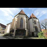 Rottenburg (Neckar), St. Moritz, Chor von außen