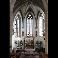 Rottenburg (Neckar), St. Moritz, Chorraum