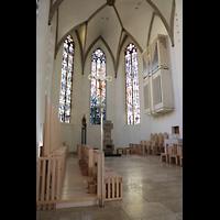 Rottenburg, Dom St. Martin, Chorraum mit Chororgel