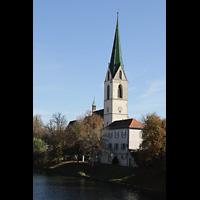 Rottenburg (Neckar), St. Moritz, Ansicht von der Neckarbrücke Königsstraße
