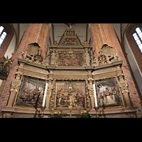Berlin (Spandau), St. Nikolai, Barocker Hochaltar