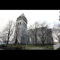 Ålesund (Aalesund), Kirke, Außenansicht von der Seite